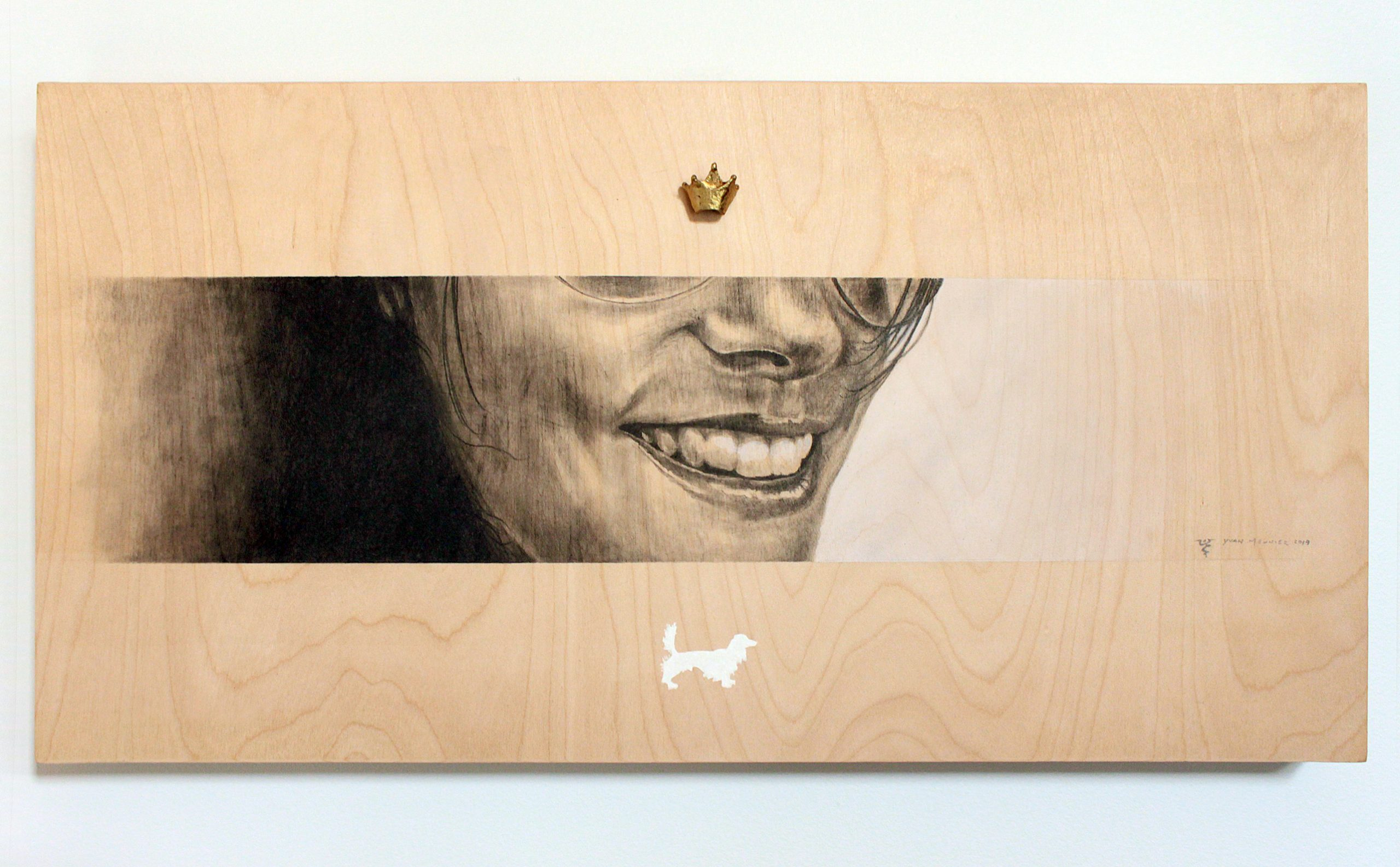 Crayonné sur bois | Crayon on wooden board